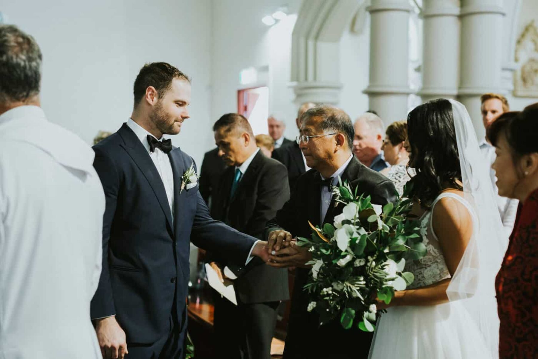 Sydney church wedding at Our Lady of the Sacred Heart, Randwick