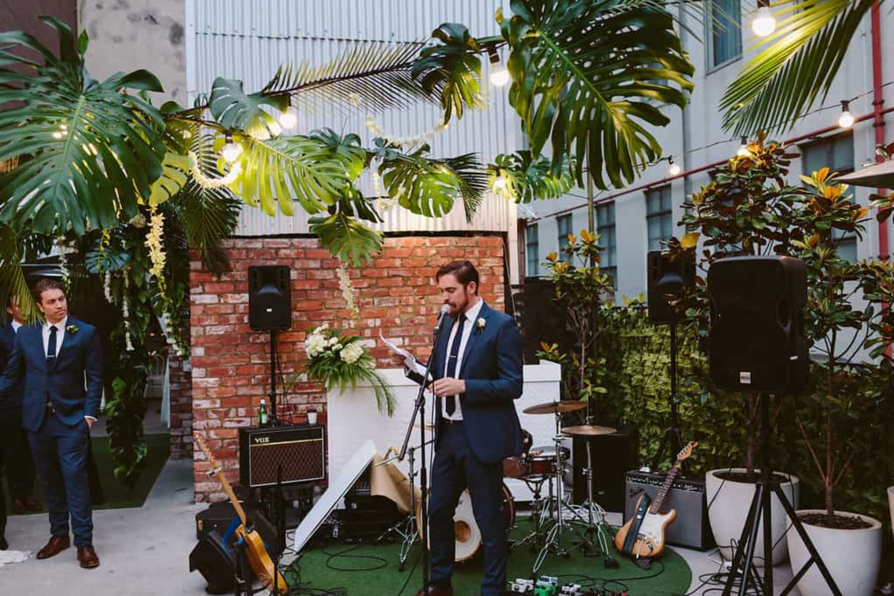 Melbourne rooftop wedding at Tonic House - photography by Beck Rocchi