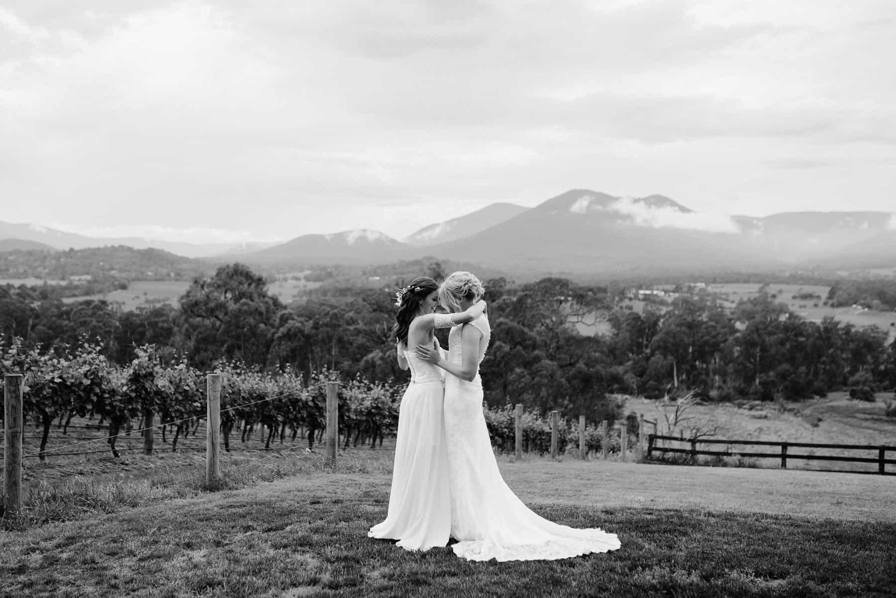 same sex Yarra Valley wedding