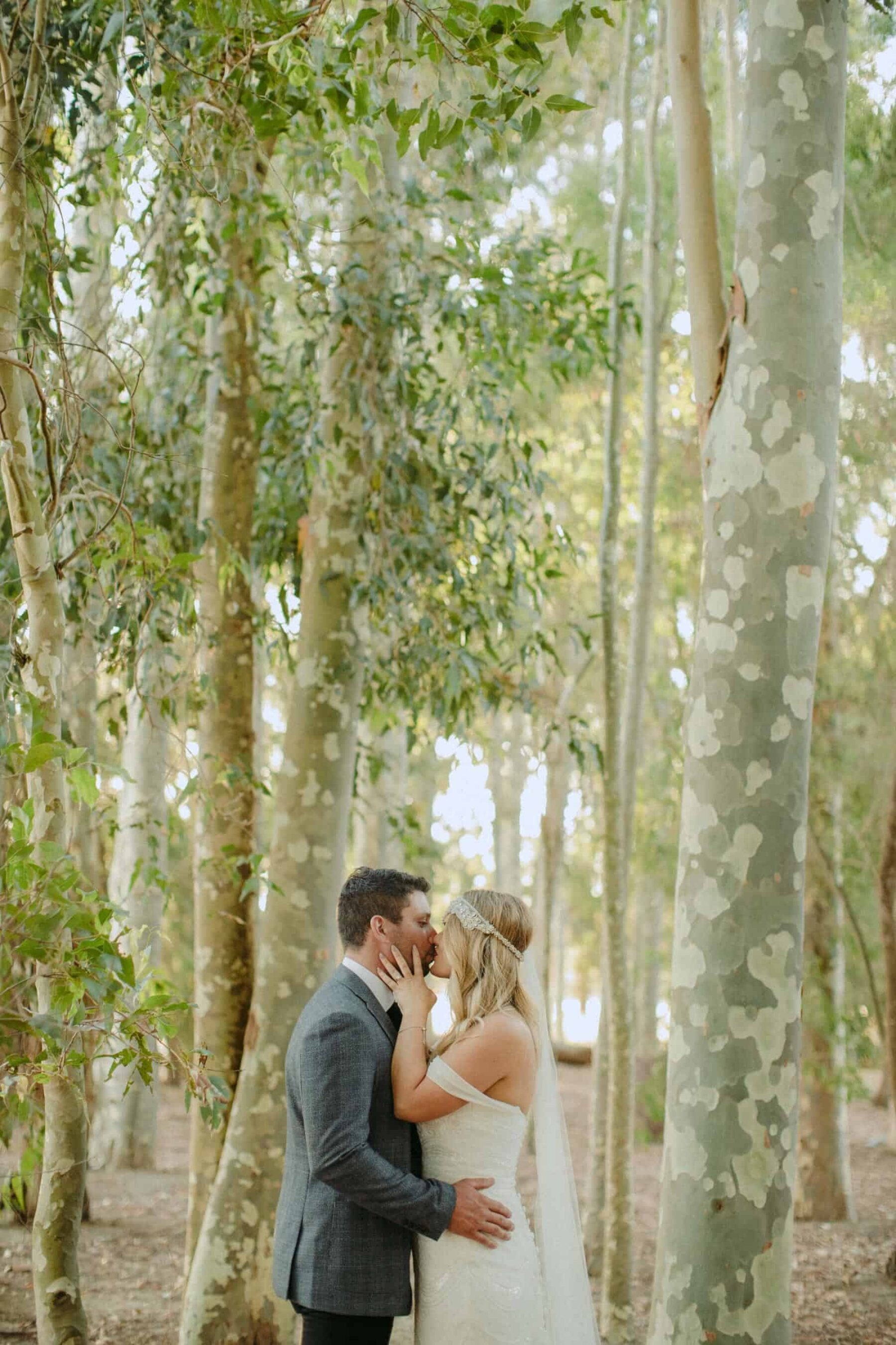 forest wedding in Margaret River / Aimee Claire Photography