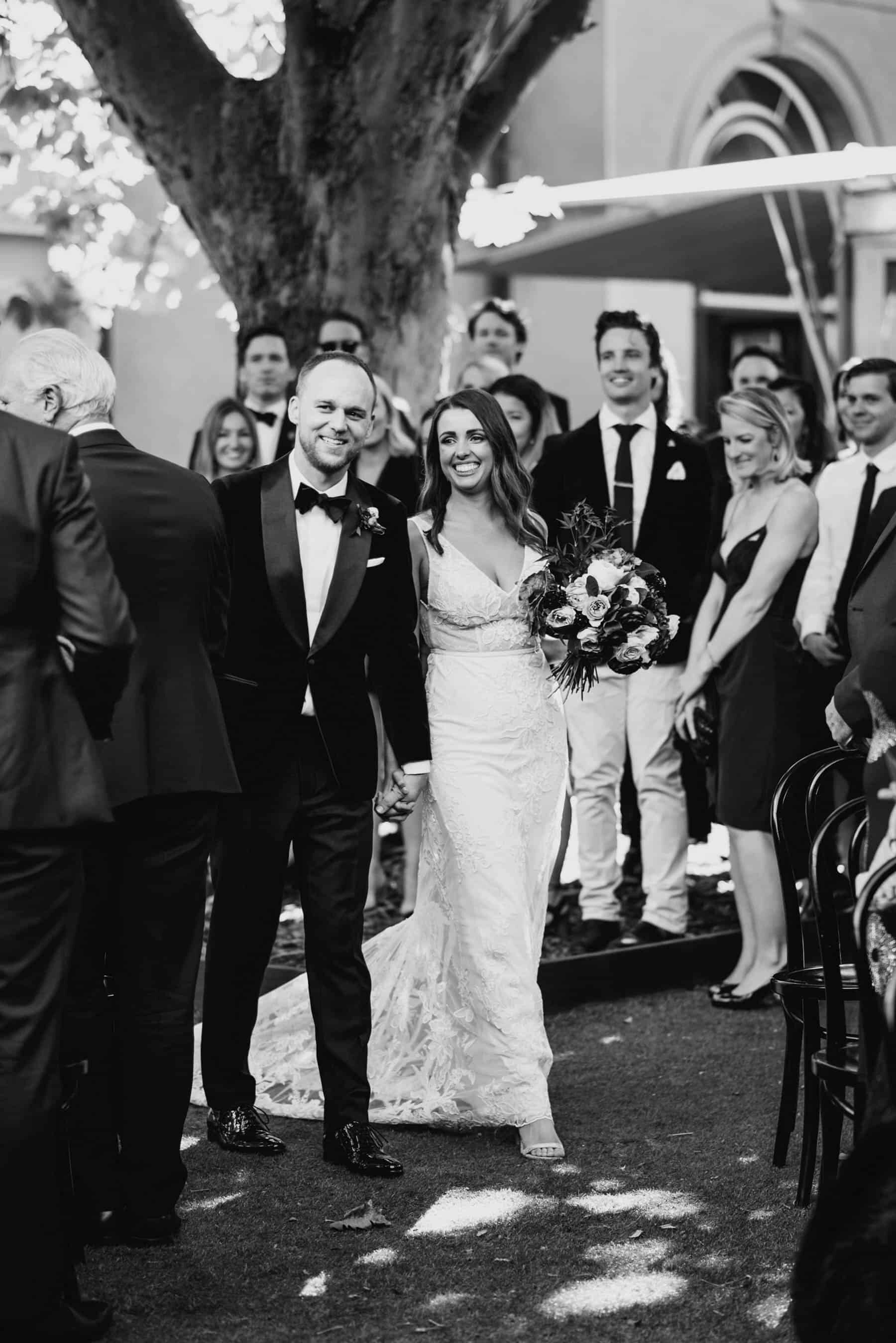 modern Melbourne wedding at Hellenic Museum / Madeline Druce Photography