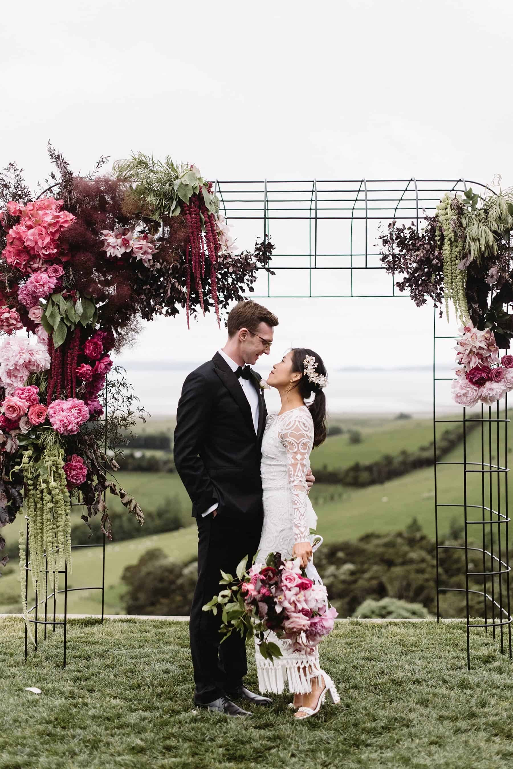 Flower-filled Wedding at Kauri Bay Boomrock / Photography by Nisha Ravji