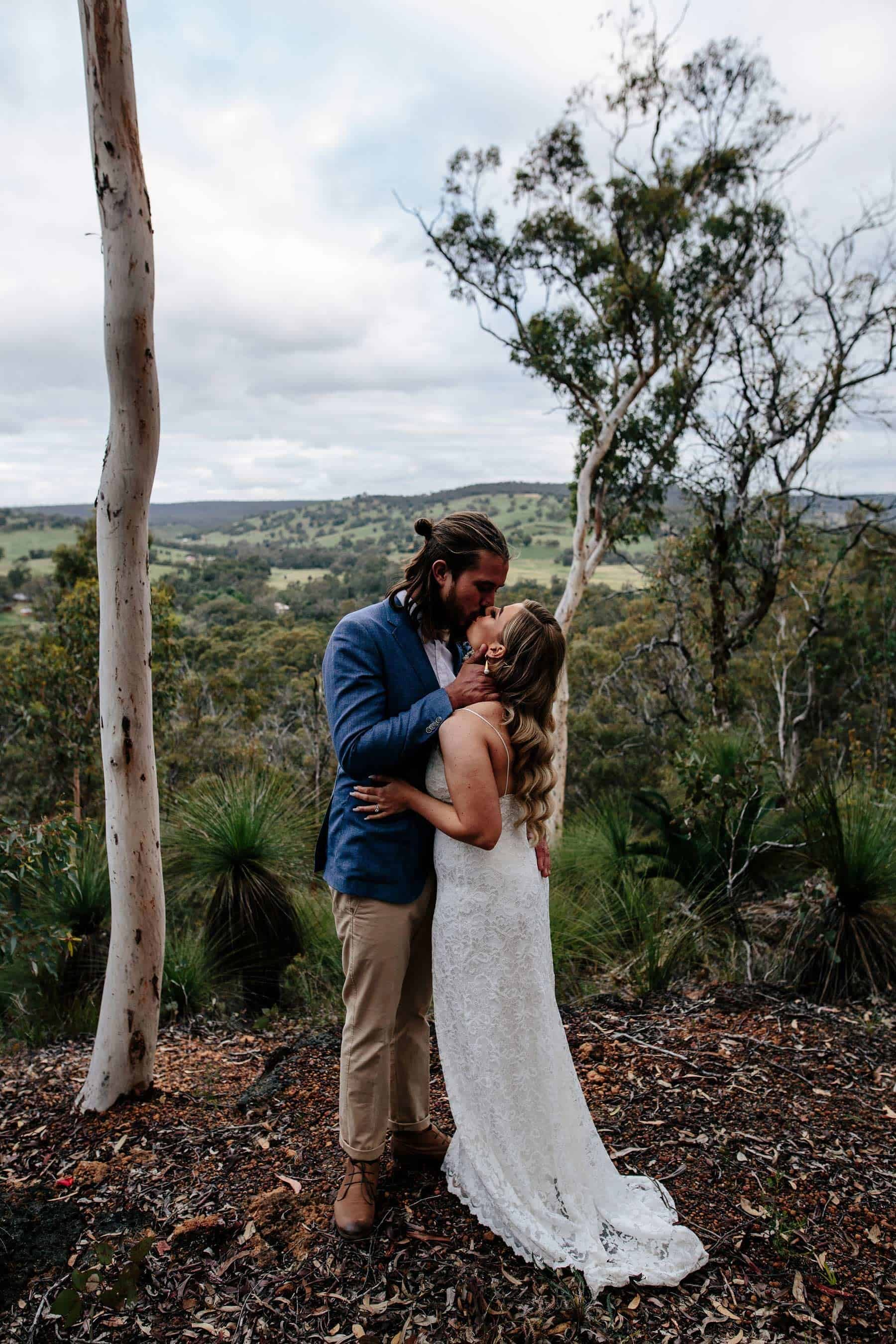 modern chic farm wedding Western Australia