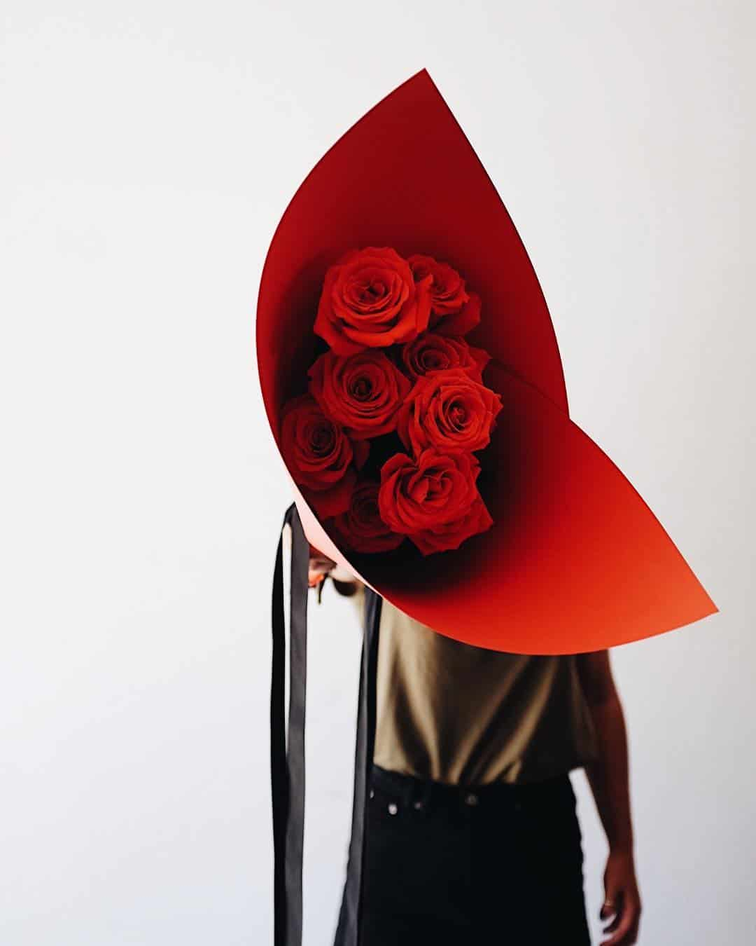perfect red roses for Valentine's day by Fremantle florist Sir Botanical