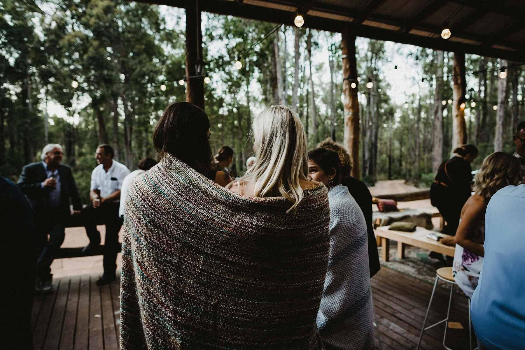South west forest wedding at Nanga Bush Camp / CJ Williams Photography