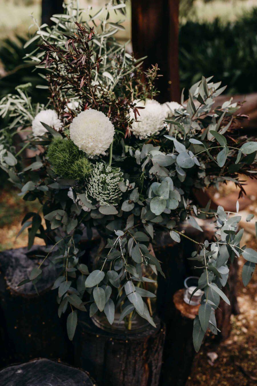 boho wedding at Bellbrae Harvest in Torquay