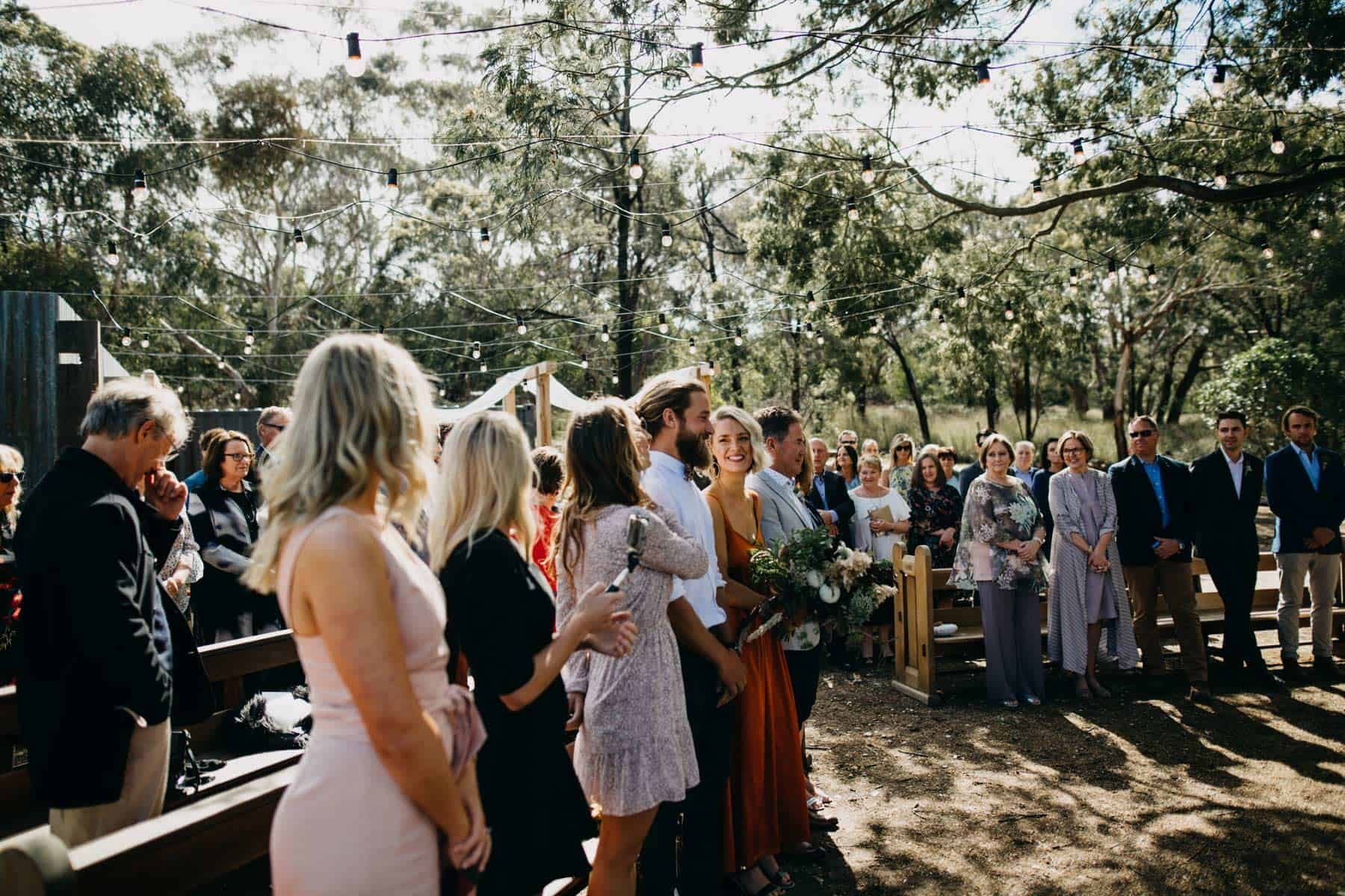 boho wedding at Bellbrae Harvest in Torquay