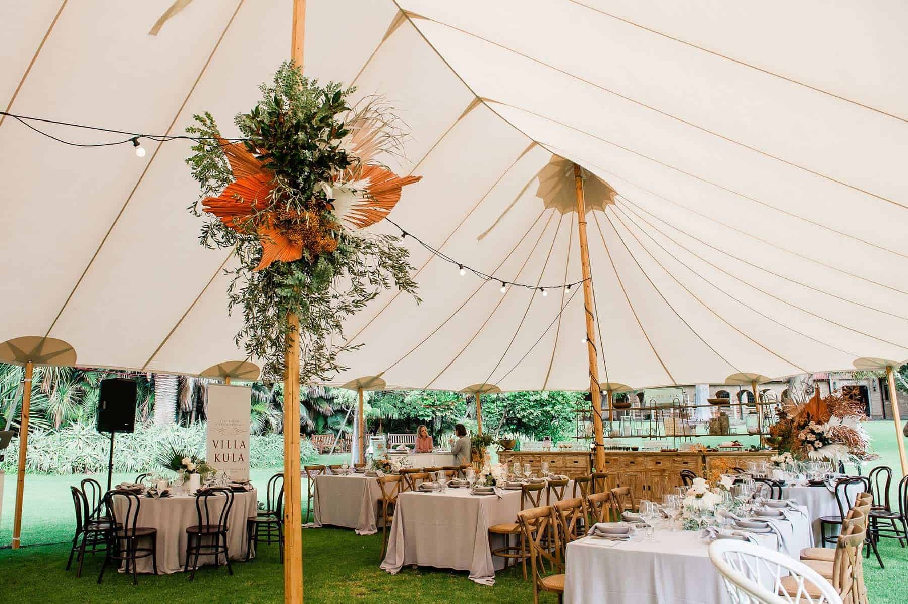 sperry tent for festival wedding Perth