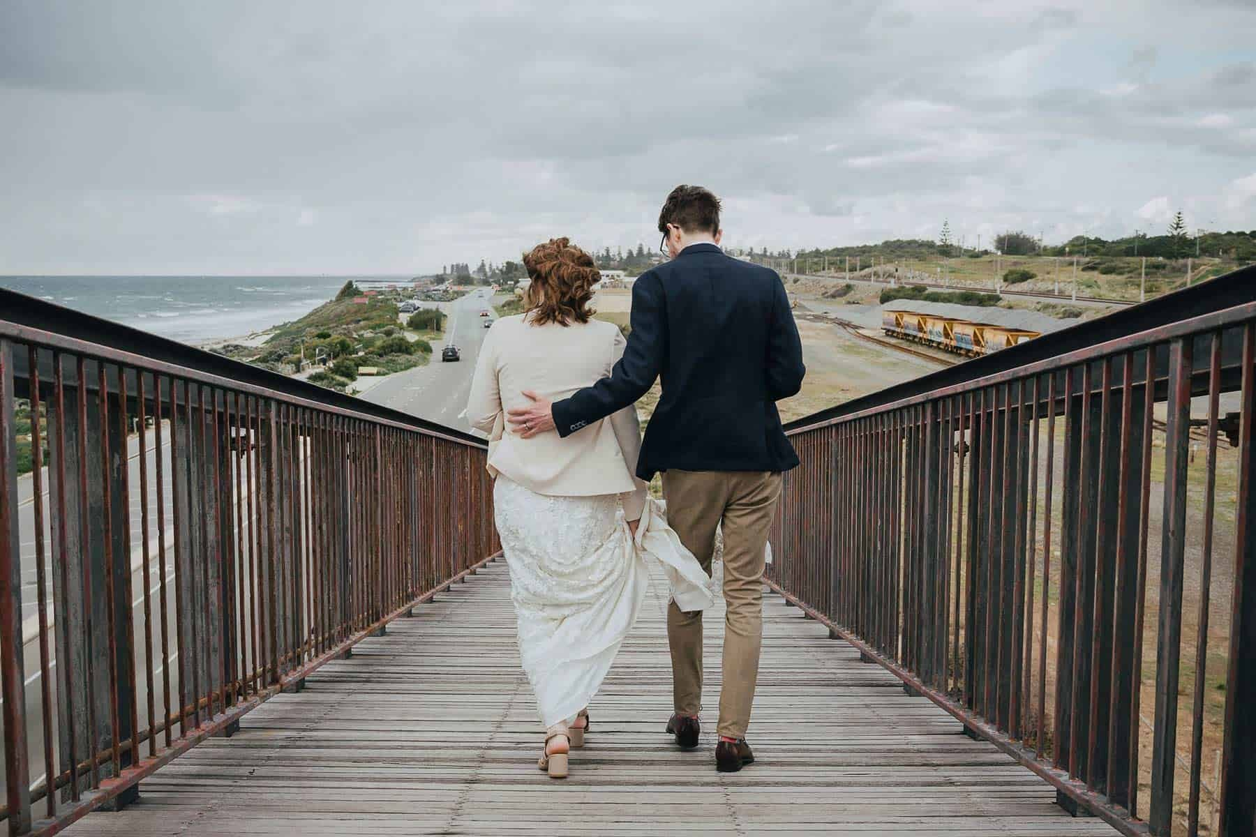 creative Fremantle wedding photographer