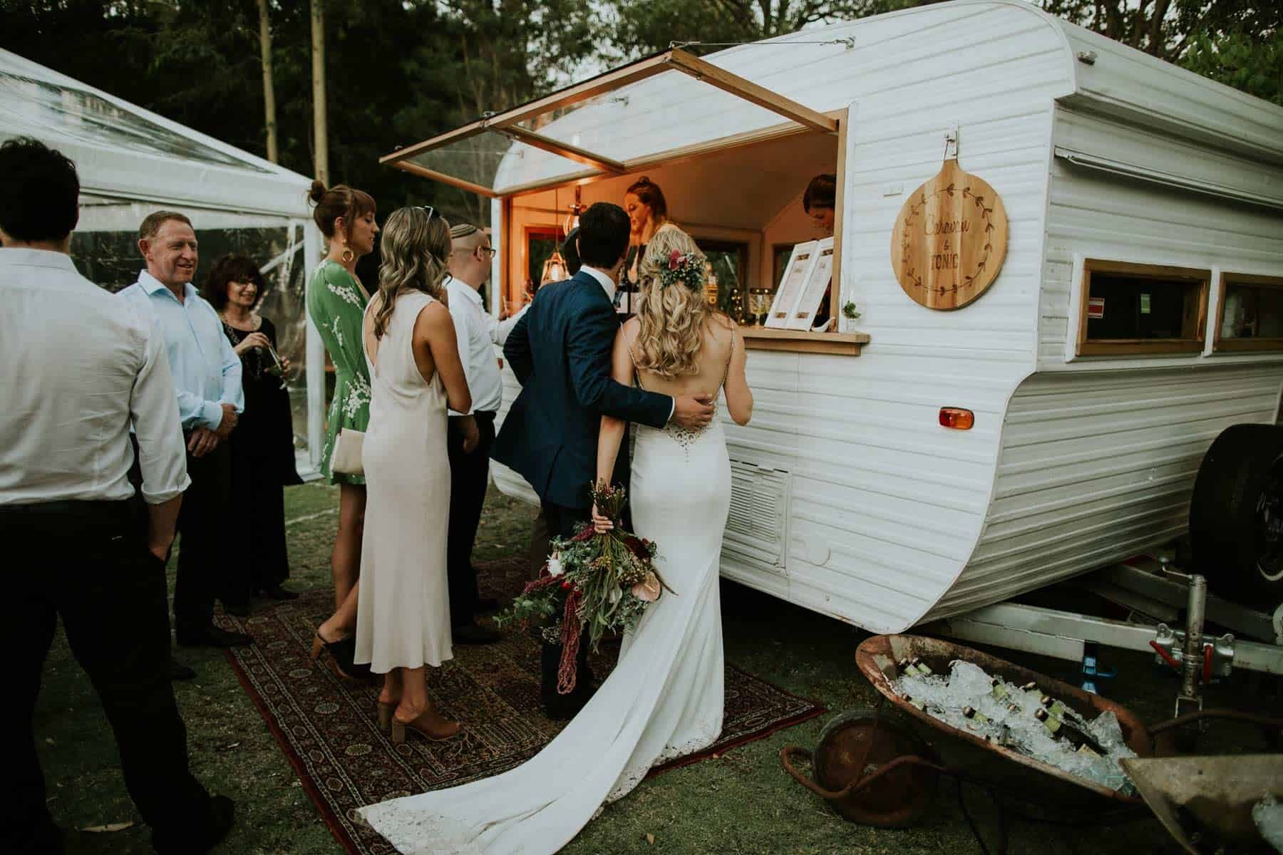 vintage caravan mobile bar hire Perth