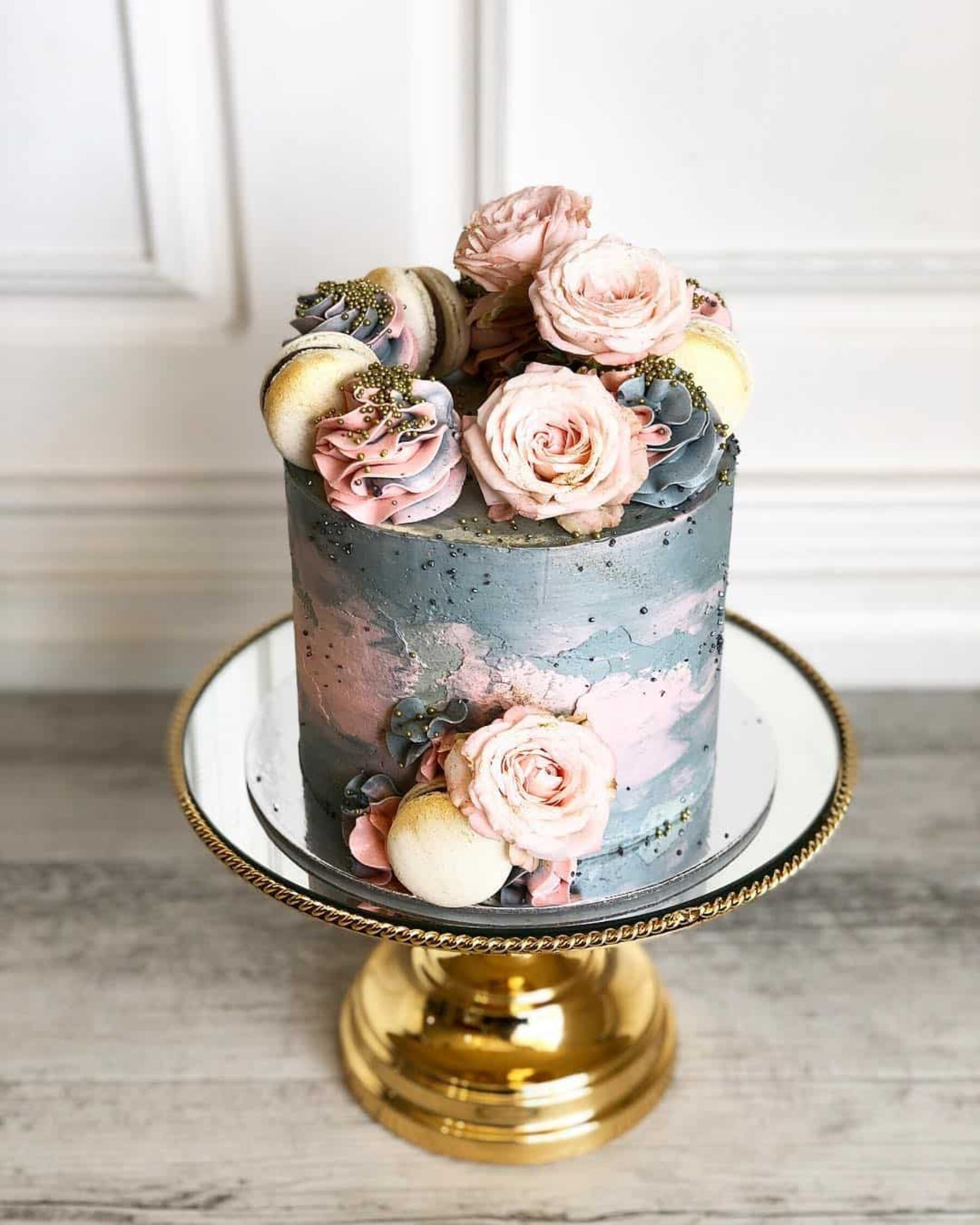 modern and creative wedding cakes in Perth WA - Posh Little Cakes