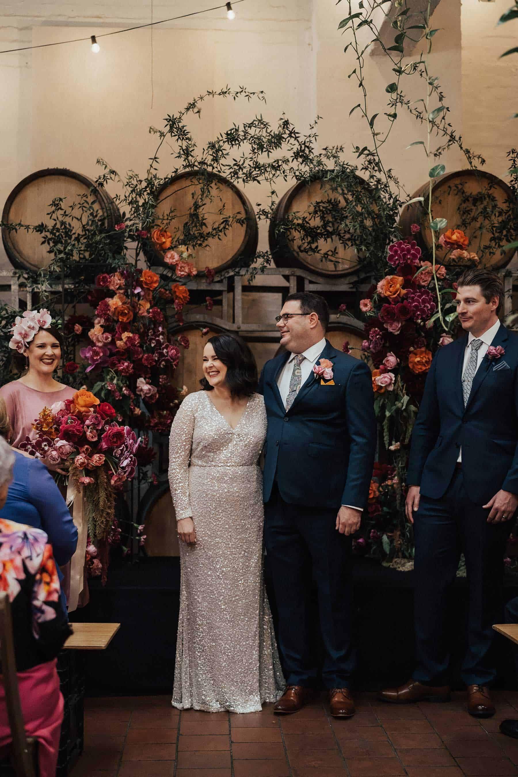 Industrial Melbourne wedding at Noisy Ritual Brunswick
