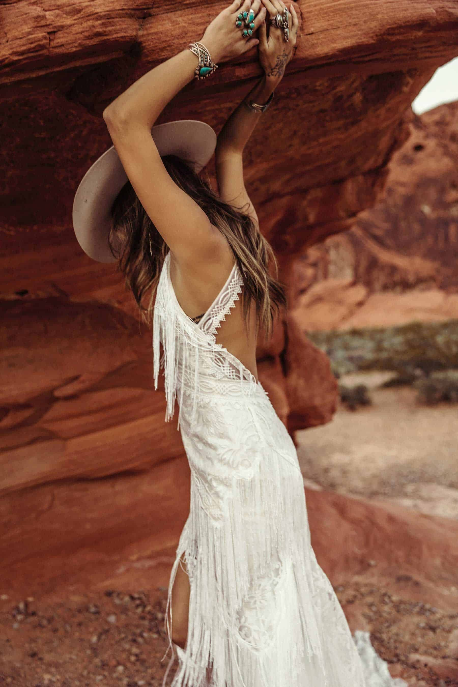 Moonrise Canyon – the Wild New Collection from Rue de Seine Bridal