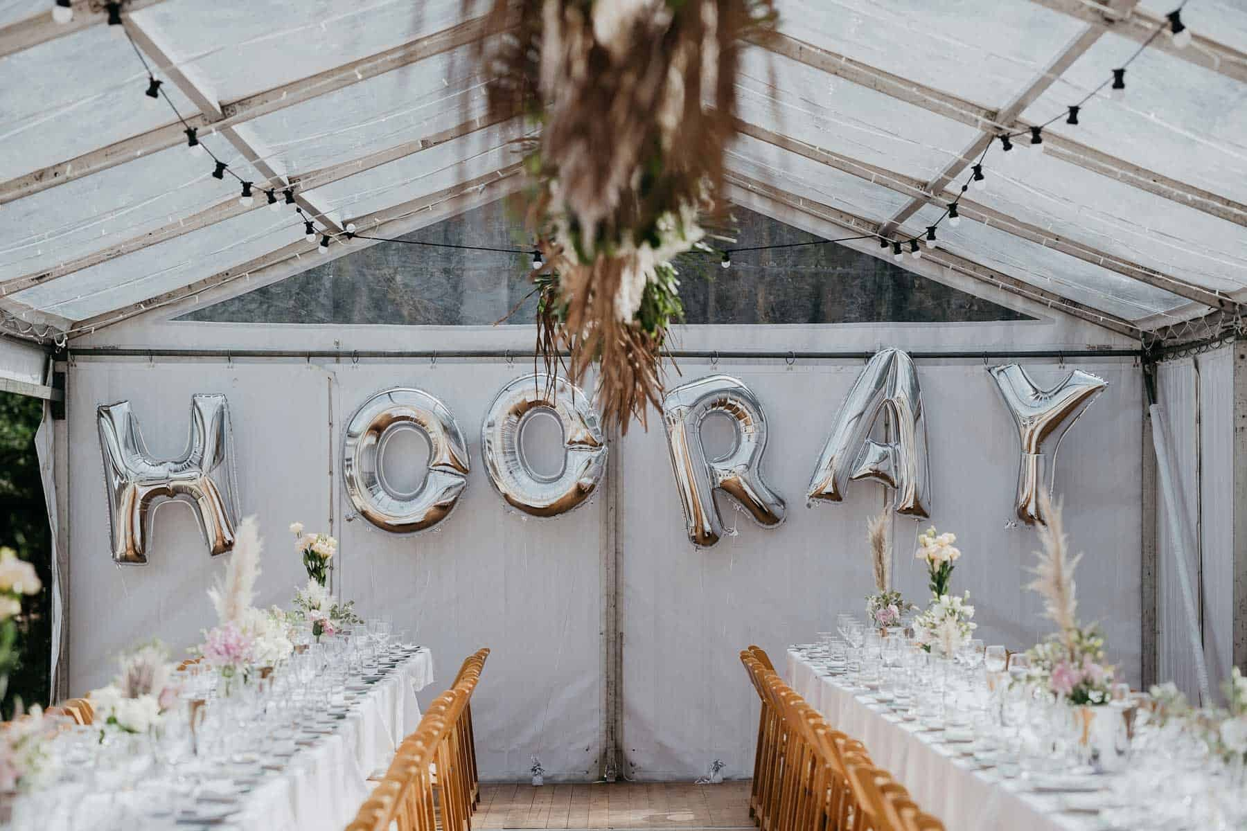stylish and modern DIY backyard wedding on the South Coast NSW