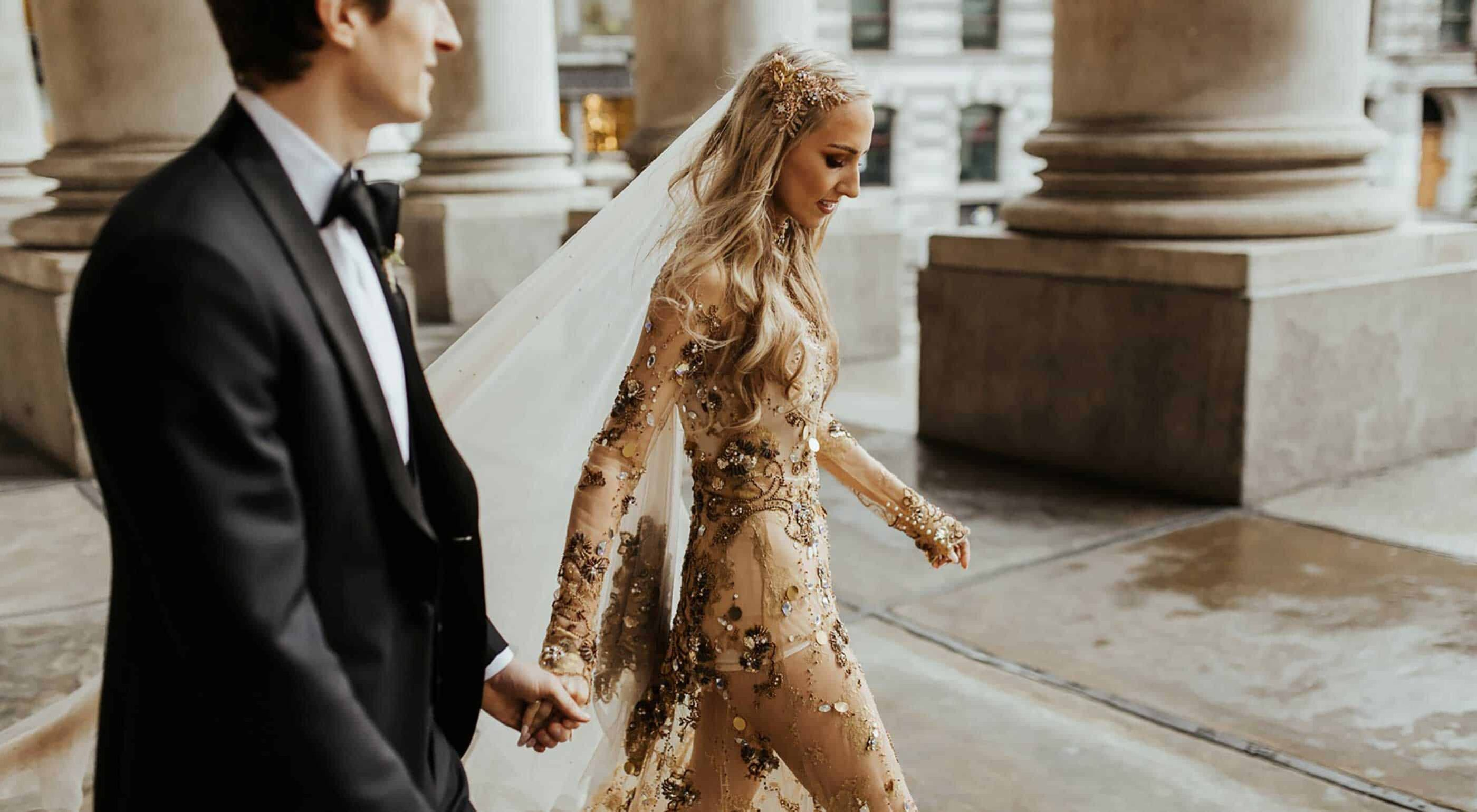 13 Bombshell Brides Rocking it in Gold .au 13