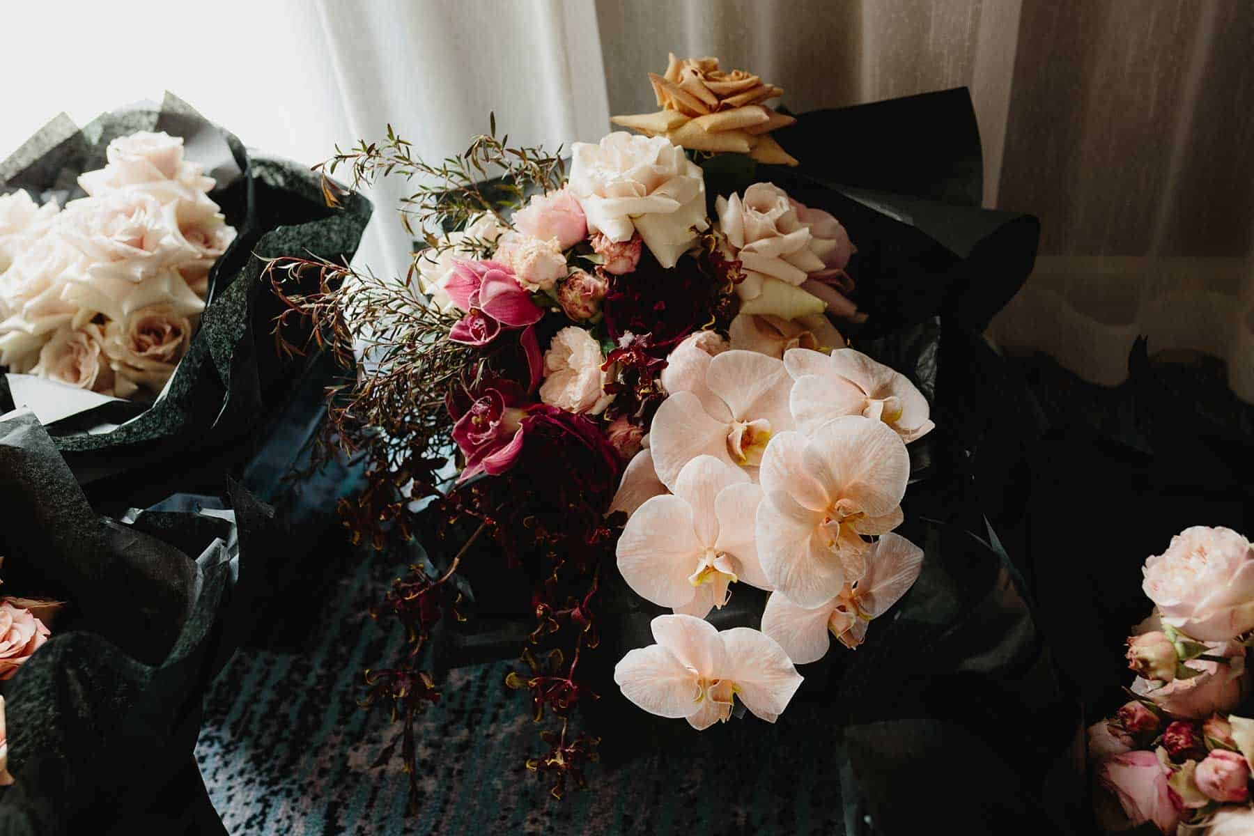 Melbourne wedding florist Wild Flos