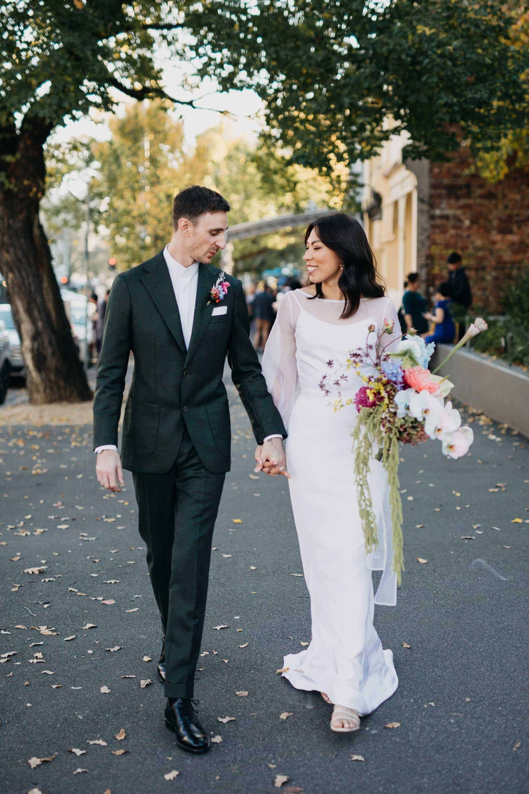 modern Melbourne wedding photographer Kyra Boyer