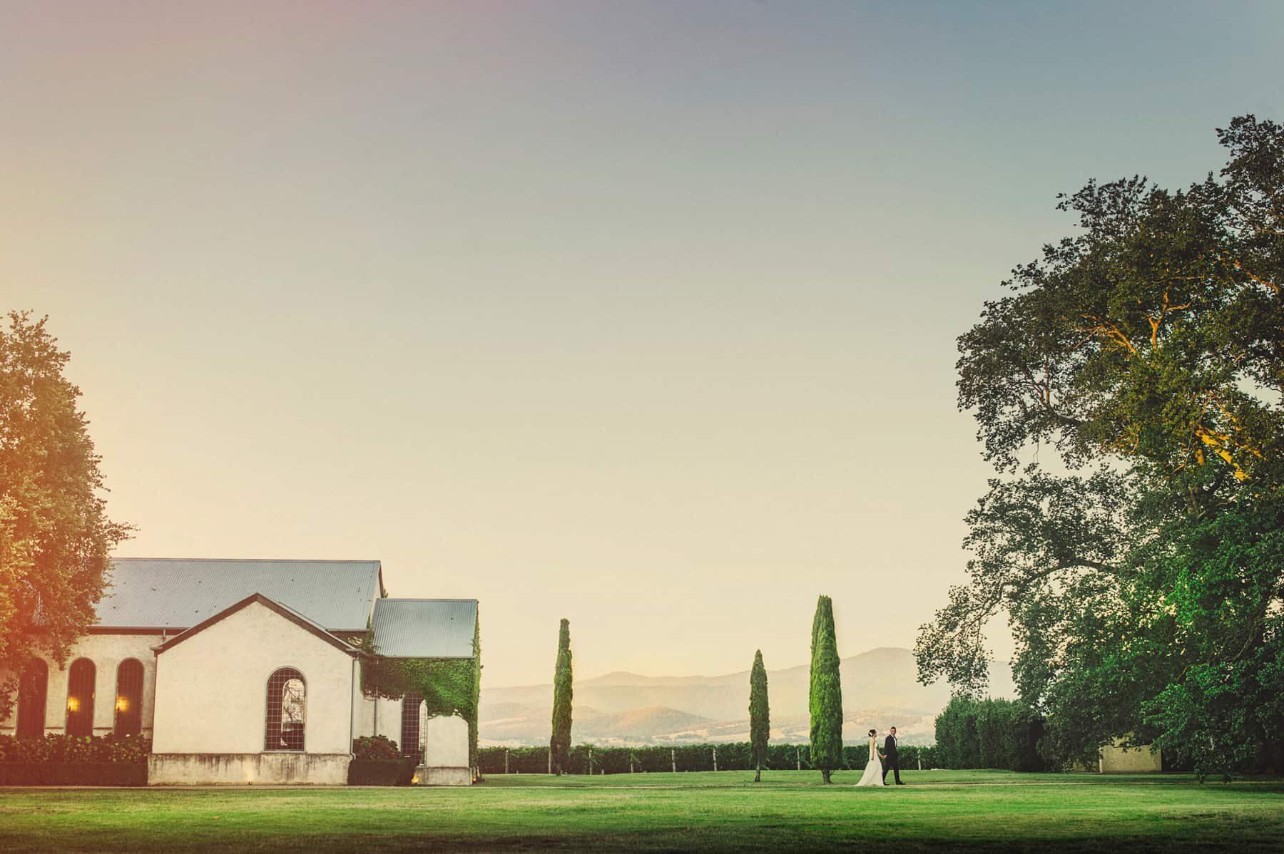 Yarra Valley creative wedding photographer