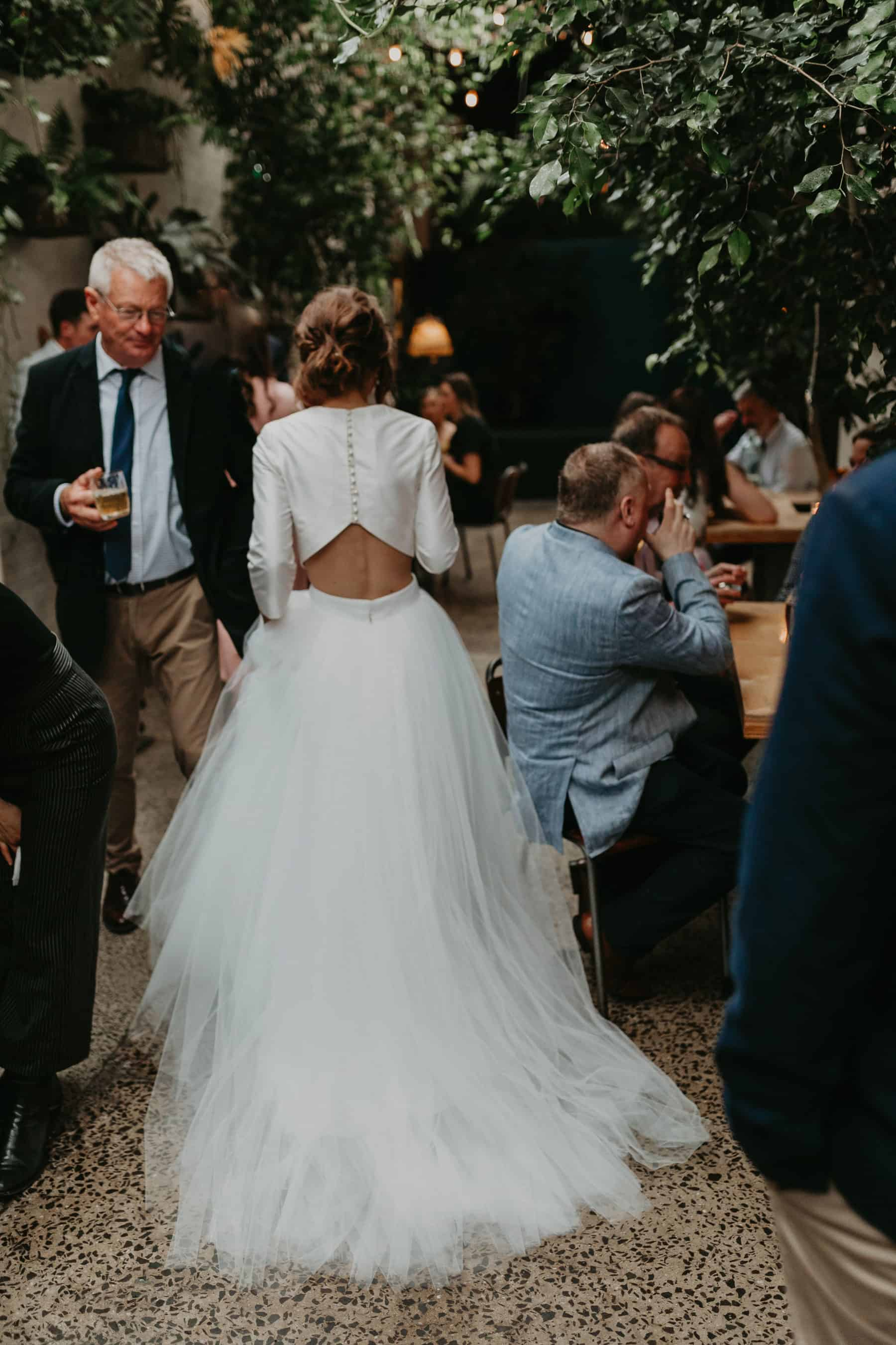 Best wedding dresses of 2019 - crop top and tulle skirt