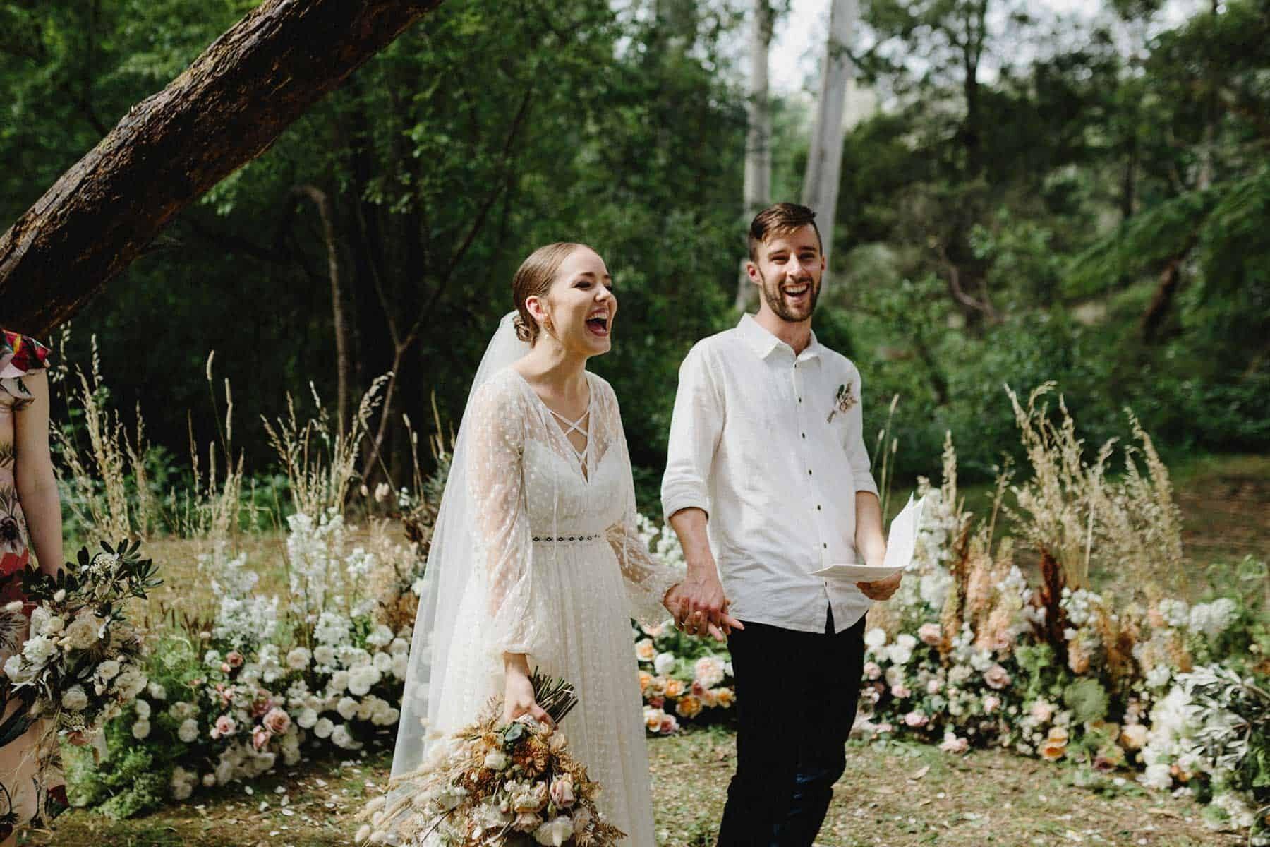 wedding ceremony floral ground arch