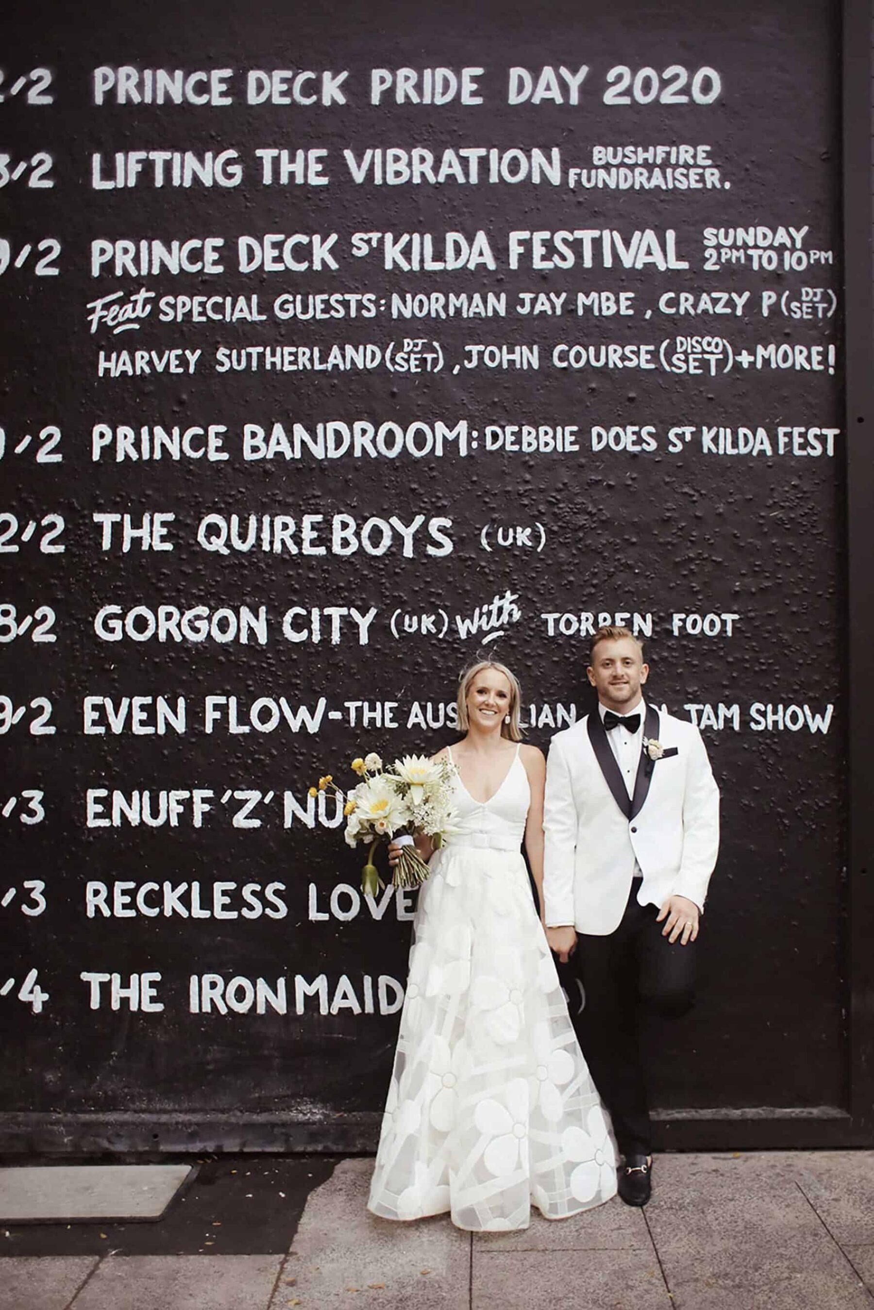 Melbourne wedding photogrpaher Brown Papre Parcel
