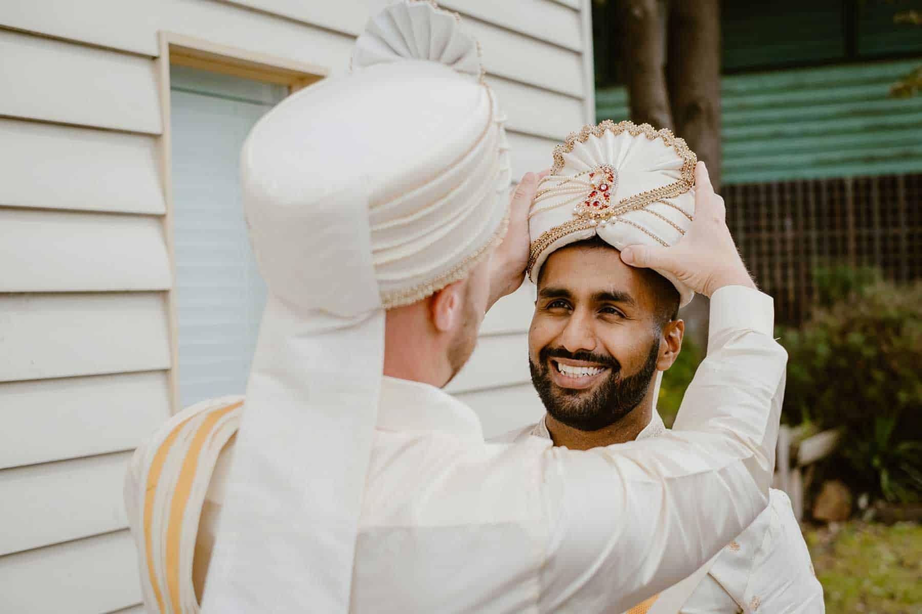 Modern Sri Lankan / Australian wedding inthe Yarra Valley