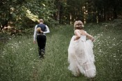 Tilly and Troy's DIY Forest Wedding