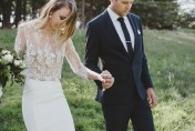 Jess & Tim's Chic Woodland Wedding